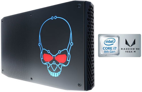 Intel Hades Canyon NUC 8 th generation NUC with I7 processor